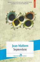 Anticariat: Jean Mattern - Septembrie