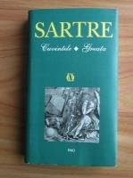 Jean Paul Sartre - Cuvintele. Greata (coperti cartonate)