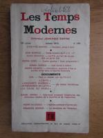 Jean-Paul Sartre - Les temps modernes. No. 318, janvier 1973