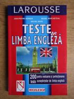 Jean Pierre Berman - Teste de limba engleza