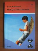 Anticariat: Joan Johnston - Mesaje misterioase