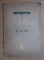 Anticariat: Johann Sebastian Bach - Inventiuni la doua voci
