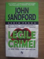 Anticariat: John Sandford - Legile crimei
