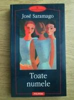 Anticariat: Jose Saramago - Toate numele
