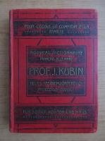 Josef Kubin - Nouveau dictionnaire manuel de la langue francaise et allemande (1908)