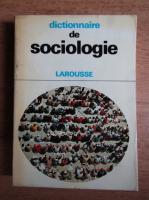 Anticariat: Joseph Sumpf - Dictionnaire de sociologie