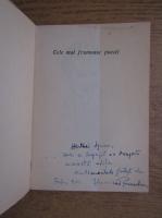 Jozsef Attila - Versuri (cu autograful Veronicai Porumbacu)