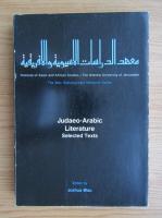 Anticariat: Judaeo-Arabic literature