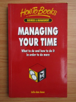 Julie-Ann Amos - Managing your time