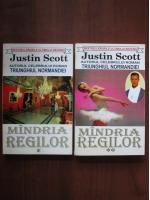 Anticariat: Justin Scott - Mandria regilor (2 volume)