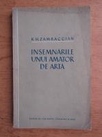 K. H. Zambaccian - Insemnarile unui amator de arta