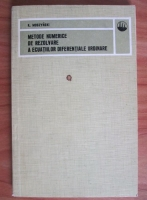 Anticariat: K. Moszynski - Metode numerice de rezolvare a ecuatiilor diferentiale ordinare