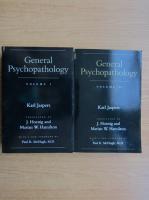 Anticariat: Karl Jaspers - General psychoathology (2 volume)