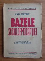 Karl Kautsky - Bazele socialdemocratiei (1946)