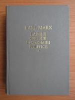 Anticariat: Karl Marx - Bazele criticii economiei politice (volumul 1)