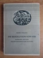 Anticariat: Karl Marx, Friedrich Engels - Die Revolution von 1848