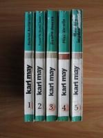 Karl May - Opere, volumele 1, 2, 3, 4, 5. De pe tron la esafod