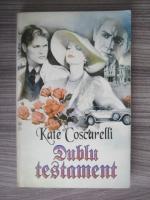 Anticariat: Kate Coscarelli - Dublu testament