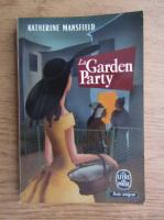 Anticariat: Katherine Mansfield - La garden party