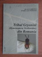 Klaus Fabritius - Tribul Gryonini (Hymenoptera, Scelionidae) din Romania