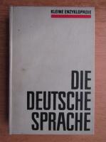 Kleine Enzyklopadie - Die deutsche sprache