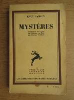 Knut Hamsun - Mysteres (1932)