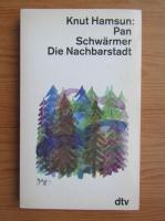 Anticariat: Knut Hamsun - Pan Schwarmer Die Nachbarstadt