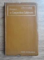 Anticariat: L. Brossolette - Etudes de composition litteraire