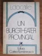 Anticariat: L. Ciocarlie - Un burgtheater provincial