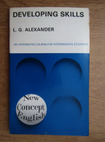 L. G. Alexander - Developing skills