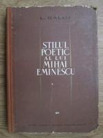 L. Galdi - Stilul poetic a lui Mihai Eminescu