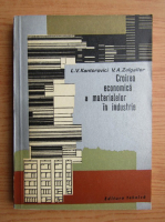 L. V. Kantorovici - Croirea economica a materialelor in industrie