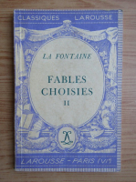 Anticariat: La Fontaine - Fables choisies (volumul 2, 1936)