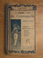 Anticariat: La premiere annee de grammaire (1923)