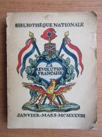 Anticariat: La revolution francaise (1928)