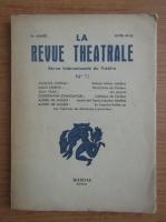 La revue theatrale, anul 5, nr. 11