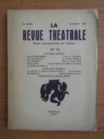 La revue theatrale, anul 5, nr. 14