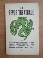Anticariat: La revue theatrale, nr. 7, aprilie-mai 1948