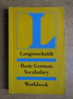 Langenscheidt. Basic german vocabulary. Workbook