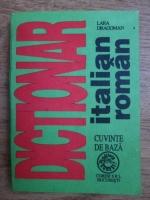 Lara Dragoman - Dictionar italian-roman, cuvinte de baza