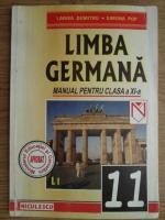 Anticariat: Larisa Dumitru, Simona Pop - Limba germana. Manual pentru clasa a XI-a