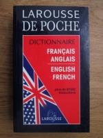 Anticariat: Larousse de poche dictionnaire francaise-anglasi, englis-french