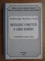 Anticariat: Laur Dascalu Jinga, Maria Teodorescu, Anca Ulivi - Antologie fonetica a limbii romane