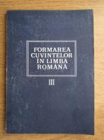 Laura Vasiliu - Formarea cuvintelor in limba romana (volumul 3)