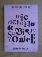 Laurentiu cerent - Mic dictionar de subiecte comice