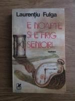 Anticariat: Laurentiu Fulga - E noapte si e frig, seniori