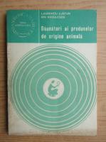 Anticariat: Laurentiu Lustun - Daunatori, depredatori, ai produselor de origine animala