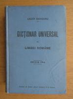 Lazar Saineanu - Dictionar universal al limbei romane (1922)