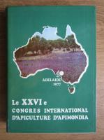 Le XXVI eme Congres International D'apiculture D'apimondia