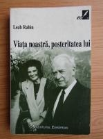 Anticariat: Leah Rabin - Viata noastra, posteritatea lui